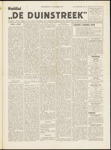 De Duinstreek 1954-12-30