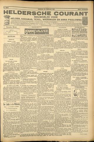 Heldersche Courant 1927-02-22