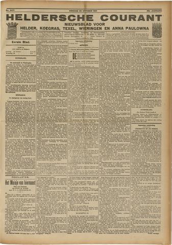 Heldersche Courant 1921-10-25