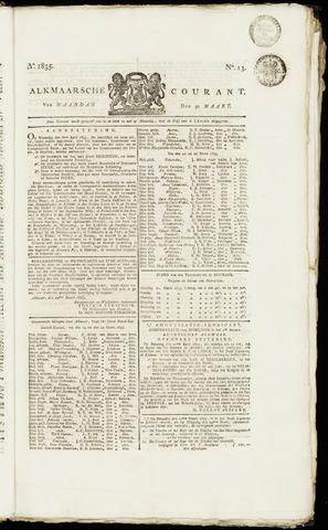 Alkmaarsche Courant 1835-03-30