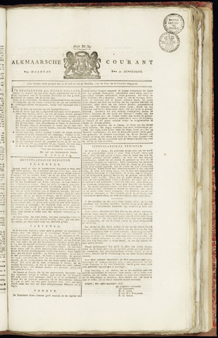 Alkmaarsche Courant 1828-09-22