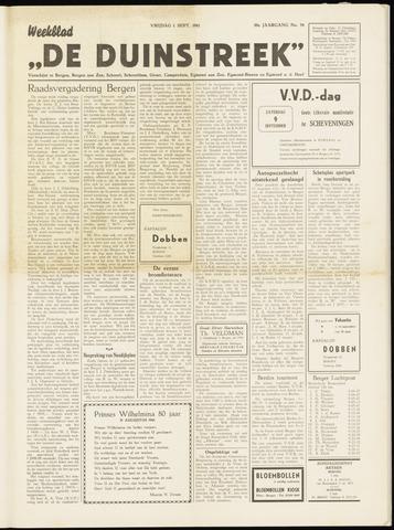 De Duinstreek 1961-09-01