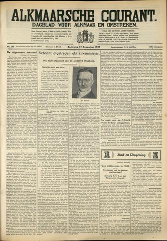 Alkmaarsche Courant 1937-11-27
