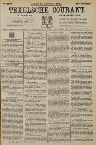 Texelsche Courant 1910-09-25