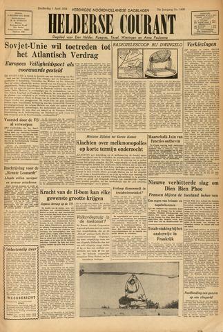 Heldersche Courant 1954-04-01