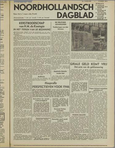 Nieuw Noordhollandsch Dagblad : voor Alkmaar en omgeving 1945-12-22