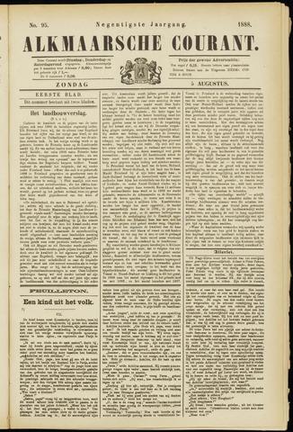 Alkmaarsche Courant 1888-08-05