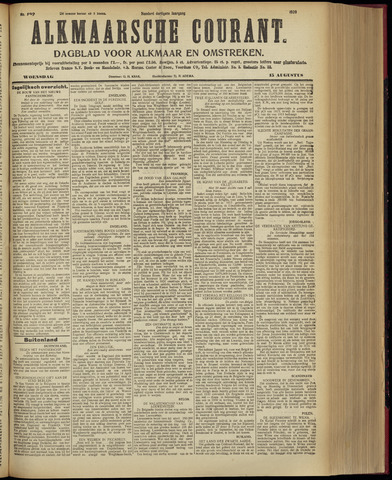 Alkmaarsche Courant 1928-08-15