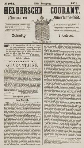 Heldersche Courant 1871-10-07