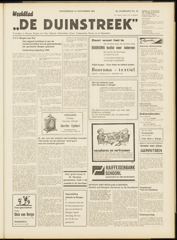 De Duinstreek 1966-11-24