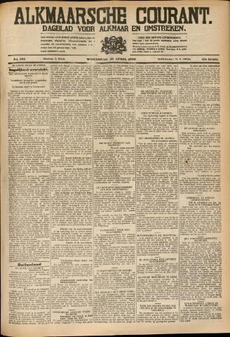 Alkmaarsche Courant 1930-04-30