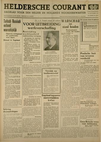 Heldersche Courant 1939-09-23
