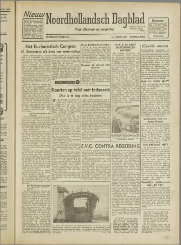 Nieuw Noordhollandsch Dagblad : voor Alkmaar en omgeving 1946-06-22