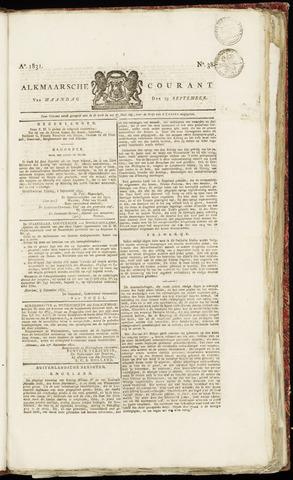 Alkmaarsche Courant 1831-09-19
