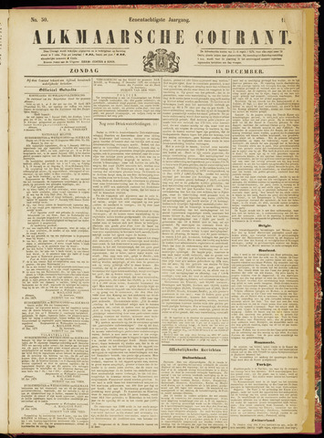 Alkmaarsche Courant 1879-12-14