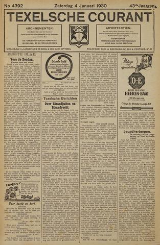 Texelsche Courant 1930