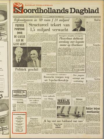Noordhollands Dagblad : dagblad voor Alkmaar en omgeving 1968-07-10