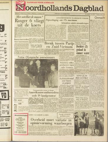 Noordhollands Dagblad : dagblad voor Alkmaar en omgeving 1964-01-31