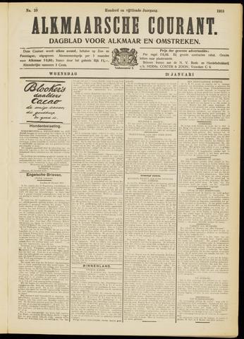 Alkmaarsche Courant 1913-01-22