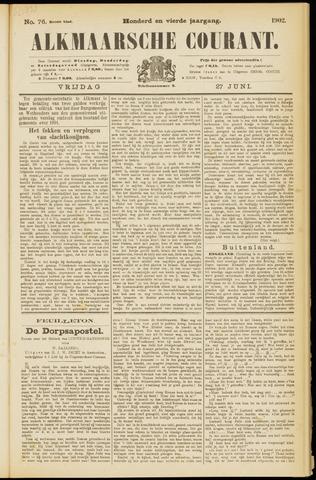 Alkmaarsche Courant 1902-06-27