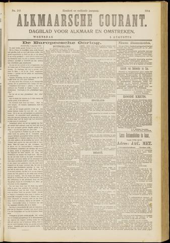 Alkmaarsche Courant 1914-08-05