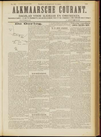 Alkmaarsche Courant 1915-09-04