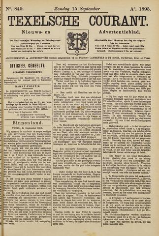 Texelsche Courant 1895-09-15