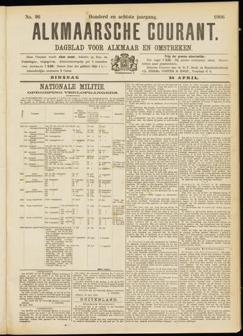 Alkmaarsche Courant 1906-04-24