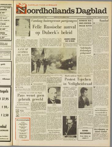 Noordhollands Dagblad : dagblad voor Alkmaar en omgeving 1968-08-22
