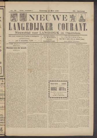 Nieuwe Langedijker Courant 1920-05-15