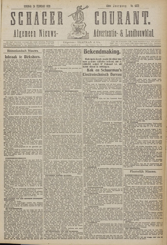 Schager Courant 1920-02-24