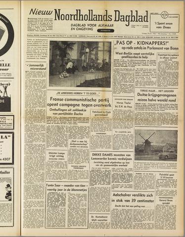 Nieuw Noordhollandsch Dagblad : voor Alkmaar en omgeving 1952-07-18