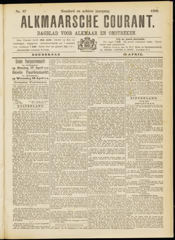 Alkmaarsche Courant 1906-04-12