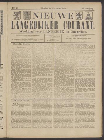 Nieuwe Langedijker Courant 1894-11-18