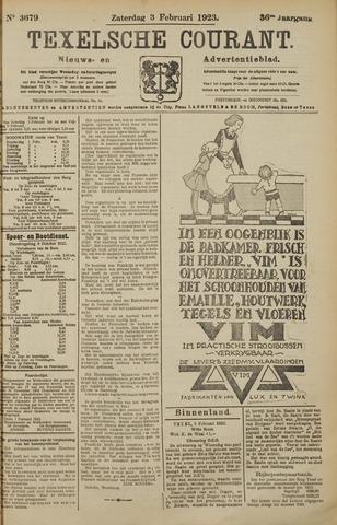 Texelsche Courant 1923-02-03