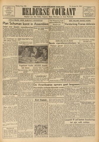 Heldersche Courant 1950-08-08