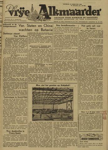 De Vrije Alkmaarder 1946-02-12