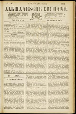 Alkmaarsche Courant 1882-11-15