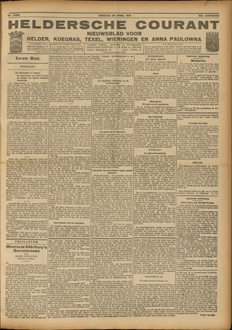 Heldersche Courant 1921-04-26