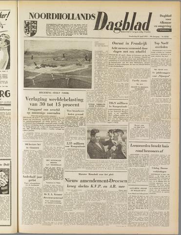 Noordhollands Dagblad : dagblad voor Alkmaar en omgeving 1953-04-23