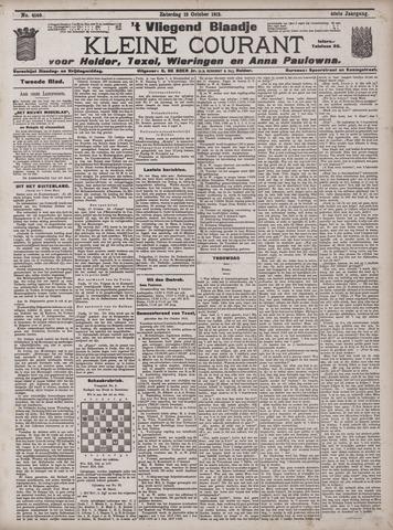 Vliegend blaadje : nieuws- en advertentiebode voor Den Helder 1912-10-12