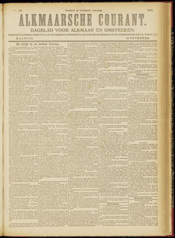 Alkmaarsche Courant 1918-11-11