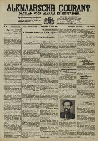 Alkmaarsche Courant 1937-04-15