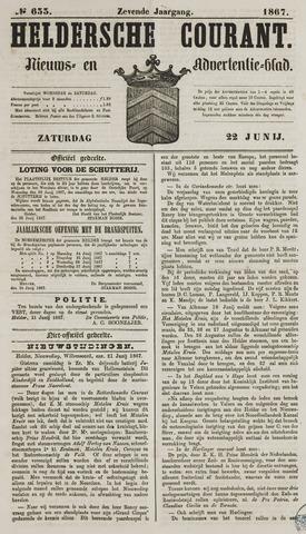 Heldersche Courant 1867-06-22