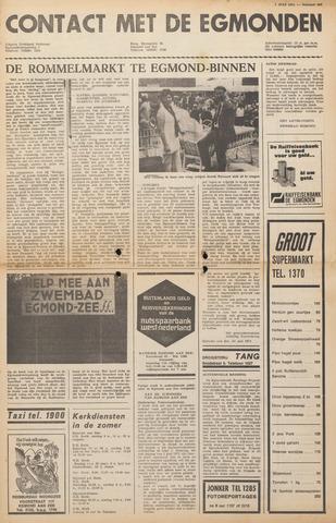 Contact met de Egmonden 1971-07-07