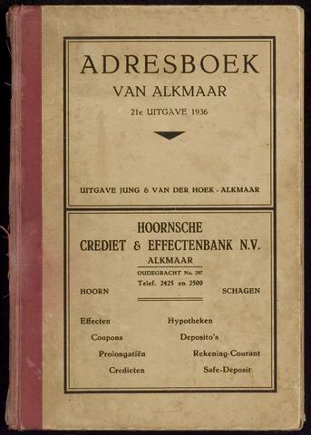 Adresboek van Alkmaar 1936-01-01