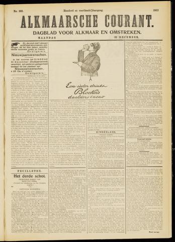 Alkmaarsche Courant 1912-12-23
