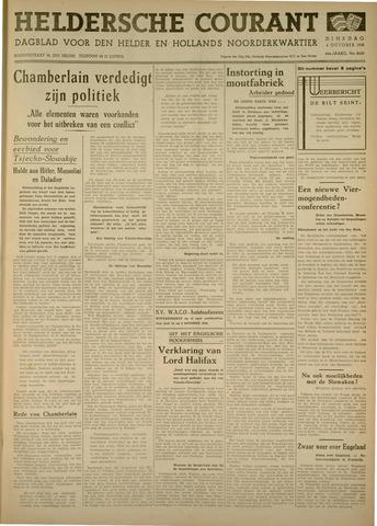 Heldersche Courant 1938-10-04
