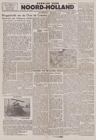 Dagblad Noord-Holland, Schager editie 1944-06-12
