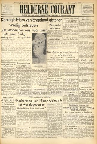 Heldersche Courant 1953-03-25